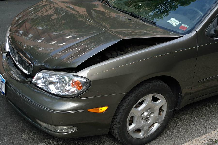 Przegląd samochodu po wypadku